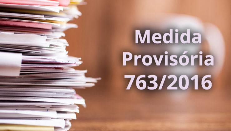 Em meio à crise, Câmara aprova Medida Provisória 763/2016